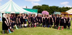 Pewsey Belles in Wellies