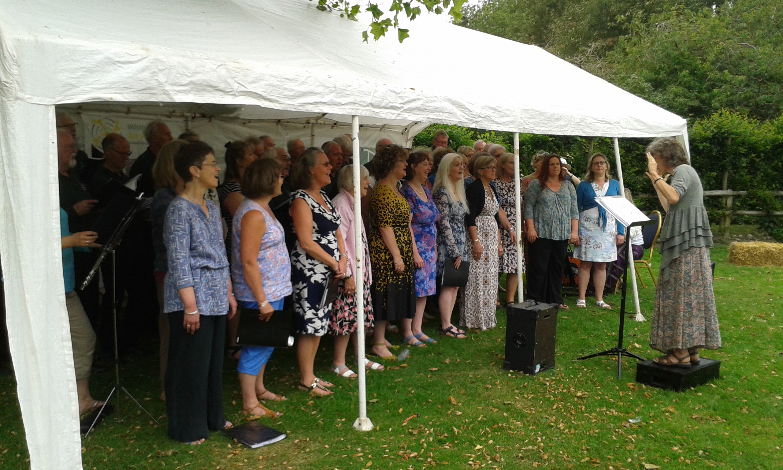 The Pewsey Belles Sing With Pewsey MVC